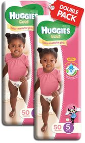Huggies - Gold Girl (Size: 5) - 50 Per Pack