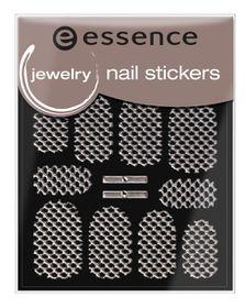 Essence Jewelry Nail Stickers 16 Silver