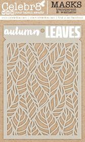 Celebr8 Mask - Autumn Leaves