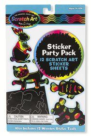Melissa & Doug Sticker Scratch Art Party Pack