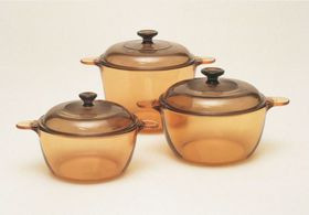 Visions 6 piece Cookpot Set - Amber