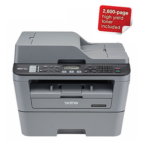 Brother MFC-L2700DW 4-in-1 Multifunction Wi-Fi Mono Laser Printer
