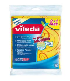 Vileda - 2-in-1 All Purpose Cloth