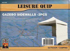 LeisureQuip - Gazebo Sidewalls - Grey