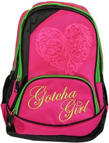 Gotcha Girls Laptop Deluxe Backpack - Limeberry
