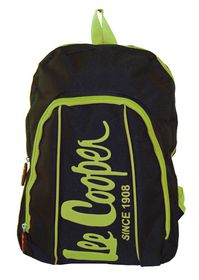 Lee Cooper Contrast Backpack- Small -Black Green