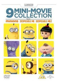 9 Mini-movie Collection from Minions, Despicable Me 1 & 2 (DVD)