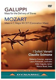 Galuppi: Mass for the Delivery of Slaves/Mozart: Coronation Mass (DVD)