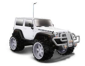 Maisto 1/16 R/C Jeep Wrangler Rubicon in White