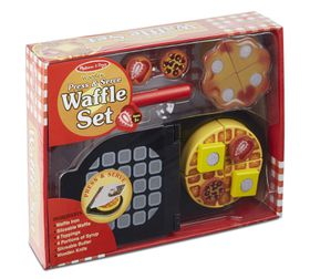 Melissa & Doug Press & Serve Waffle Set