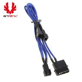 BitFenix Power Splitter Cable - 20cm Length - Black/Blue/Black