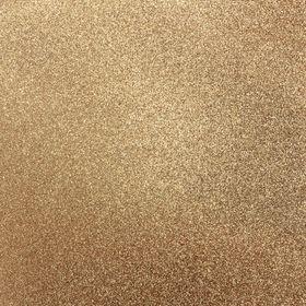 Kaisercraft 12 x 12 Glitter Cardstock - Bronze (5 Sheets)