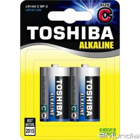 Toshiba Alkaline C Batteries
