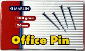Marlin Office Pins 26mm 100g