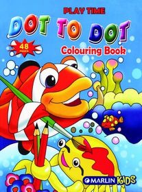 Marlin Kids Playtime Dot to Dot 48 Page Activity Book