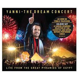 Yanni - The Dream Concert : Live From The Great Pyramids Of Egypt (DVD/CD)