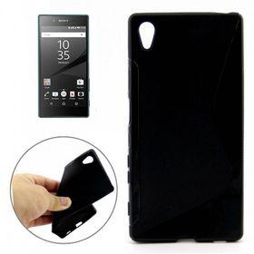 Tuff-Luv TPU Gel Case for Sony Xperia Z5 - Black