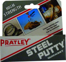 Pratley - 125g Steel Putty
