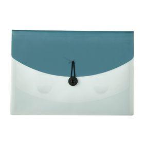 Meeco 4 Division Document Organiser - Blue