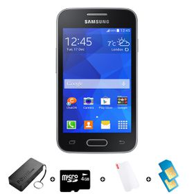 Samsung Trend Neo 4GB 3G Black - Bundle 2 incl. R1500 airtime + 1.2GB Starter Pack + Accessories