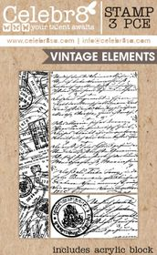 Celebr8 Picture Perfect Stamp - Vintage Elements