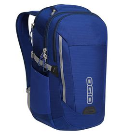 Ogio Ascent backpack in Blue and Navy