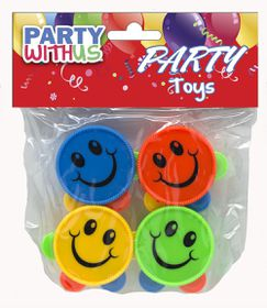 Party with Us Party Favour Smile Tambourine