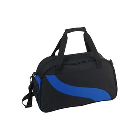 Eco Wave Design Duffle Bag - Blue