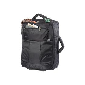 Eco Overnight Trolley Bag - Black