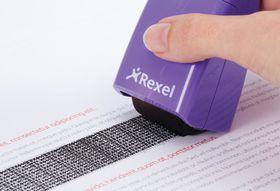 Rexel ID Guard Roller Perfect Purple