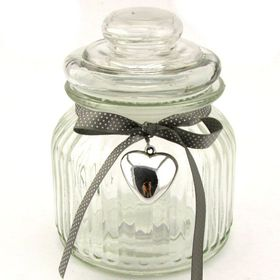 Pamper Hamper - Decorative Glass Jar With Lid
