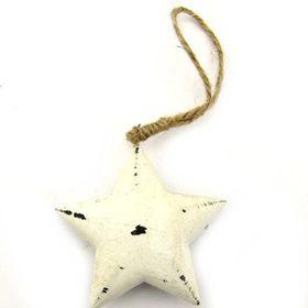 Pamper Hamper - Wooden Hanging Star