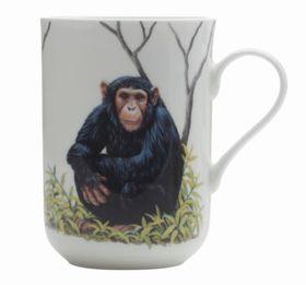 Maxwell and Williams - Cashmere Animals Of The World Mug Chimpanzee - 300ml