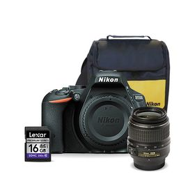 Nikon D5500 DSLR 24MP Starter Value Bundle