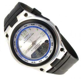 Casio Mens AW-82-7AVDF Fishing Gear Moon Phase Anadigital Watch