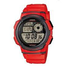 Casio Mens AE-1000W-4AVDF World Time Sports Digital Watch