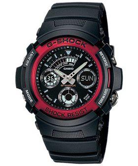 Casio Mens AW-591-4ADR G-Shock Anadigital Watch