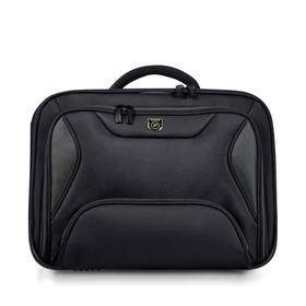 "Port Manhattan Clamshell Laptop Bag 15.6"" - Black"