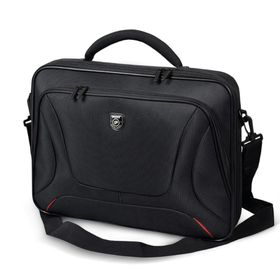 "Port Courchevel Clamshell Laptop Bag 17.3""- Black"