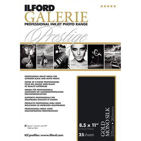 Ilford Prestige Gold Mono Silk A4 Photo Paper