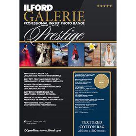 Ilford Prestige Textured Cotton Rag 19 A3+ Photo Paper
