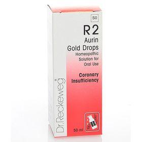 Dr. Reckeweg Aurin Gold Drops - 50ml