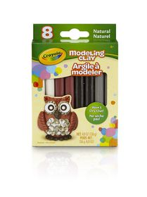 Crayola 8ct Modeling Clay - Neutral Colours