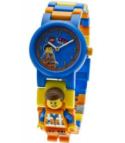 ClicTime Lego Movie Emmet Minifigure Link Watch