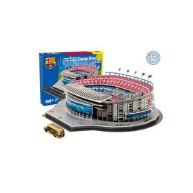 Nanostad Barcelona Camp Nou Stadium 3D Puzzle - 100 Piece