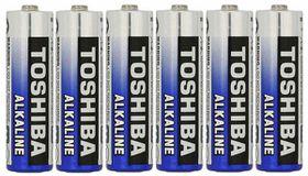 Toshiba AA Alkaline Batteries - 6's
