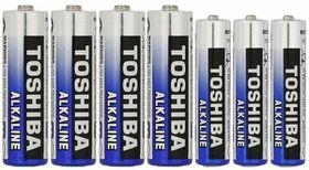 Toshiba Batteries - AA x 4 & AAA x 3