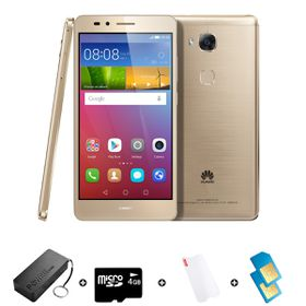 Huawei GR5 16GB LTE Gold - Bundle 5 incl. R300 Airtime + 1.2GB Starter Pack + Power Bank + SD Card + Screen Protector