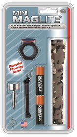 Maglite - Universal AA Holster Combo Pack - Camo