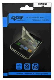 Scoop Screen Protector for Samsung Galaxy S6 Twin Pack